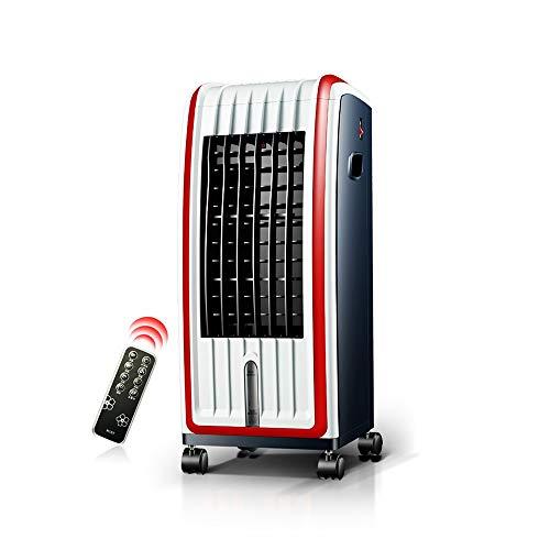 Mobile Klimaanlage XIAOYAN 2 in 1 tragbaren Luftkühler elektrische Heizung mit Fernbedienung und LED-Anzeige 12-Stunden-Timer-Funktion für Home Office