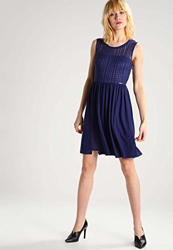 Guess W72k62k5i60, Robe Femme Bleu