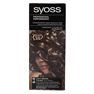 Syoss Hair Color Light Brown No.6.0 115ml.