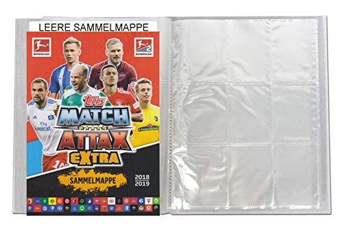 Fußball Album (Unbekannt Topps Match Attax EXTRA 2018/19 - 1 Leere Sammelmappe - Deutsch)