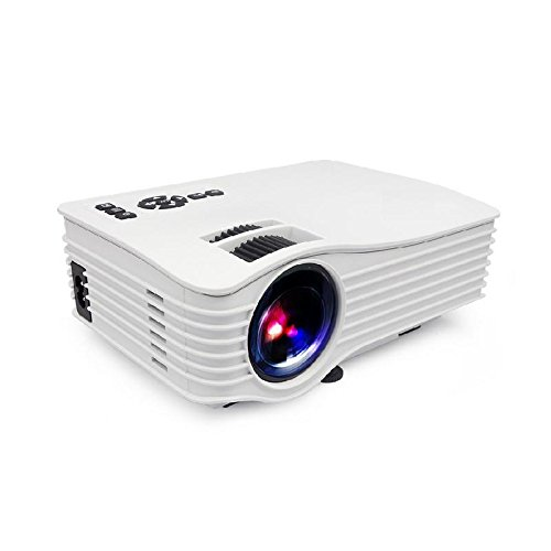 Biaba Collection Best Wi-Fi Ready UC 36 Mini LED Portable Projector Full HD Support Home Theater USB/AV/HDM…(White)