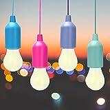 Lampade LED Lamp, Lampadina, Luce Decorativa ,LED Lampada da Campeggio a LED, Luce da Campeggio Luminosa Per Il Campeggio Escursionismo Luce da Emergenza a Pesca Notturna, Campeggio, Festa, Guardaroba, da Esterno o da Interno