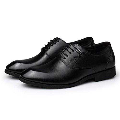 Affari vestito scarpe/ punto scarpe/ scarpe d'Inghilterra cinturino/Dimensione scarpa che respira-B Lunghezza piede=24.8CM(9.8Inch)