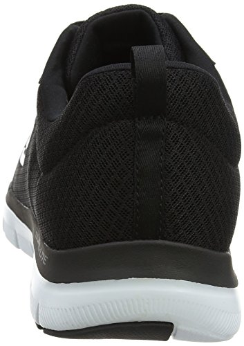 Skechers Flex Advantage 2.0-Dayshow, Baskets Homme Noir (Black/white)