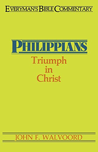 Philippians Everymans Bible Commentary (Everyman's Bible Commentary Series)