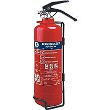 Smartwares BB2NL - Extintor (2 kg polvo seco resistente al fuego) color rojo