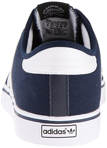 Adidas Performance Seeley Skate Shoe, frêne gris / blanc / noir, 4 M Us Collegiate Navy/White/Black