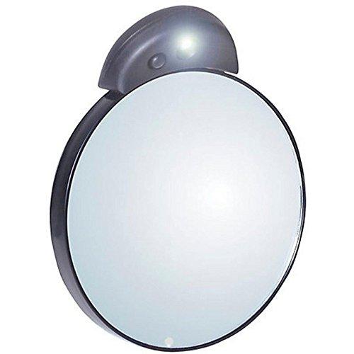 Tweezerman Conduit Éclairé 10X / 1X Miroir Compact (Paquet de 6)