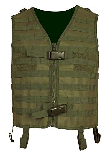 Paintball Weste pt-field Molle olive - Olive Paintball Weste