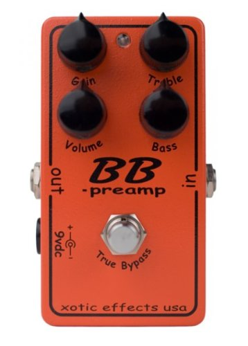 Xotic BB Preamp – Boost/overdrive