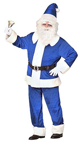 WIDMANN?Weihnachtsmann Super Luxus Velours Mens, blau, XL, vd-wdm61154 Preisvergleich
