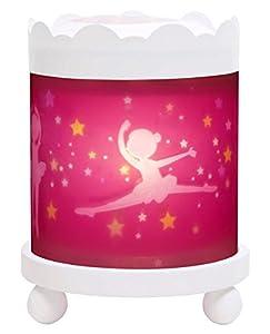 Trousselier 43m11wgb 12V Merry Go Round Magic Lantern Bailarina Noche Lámpara