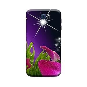 Qbic 3D High Quality Designer Mobile Back Case Cover For Samsung S6 (Premium Matte Finishing Back Case)