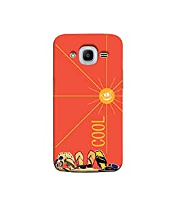 Kaira High Quality Printed Designer Soft Silicone Back Case Cover For Samsung Galaxy J2 (2016)(Cool)