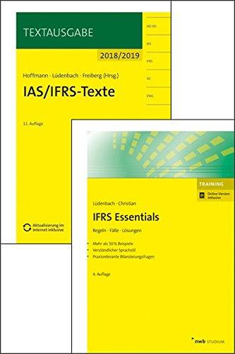 Bücherpaket IFRS Essentials und IAS/IFRS-Texte 2018/2019