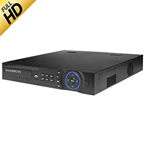 8 Canaux full hD, iP/hDCVI oNVIF et enregistreur tribrid hDCVI-analogique