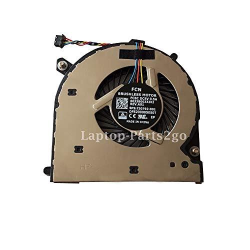 TB® Ersatz Lüfter Lüfter für HP EliteBook 740 G1 740 G2 840 G1 840 G2 850 G1 850 G2 G2 Laptop CPU Lüfter 730792-001 (Lüfter Für Hp Notebook)