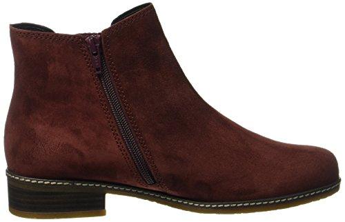 Gabor Damen Comfort Sport Chelsea Boots Rot (38 Wine (Micro))