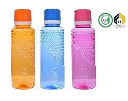 Vijkan Aarushi Unbreakable Water Bottle Pack of 3 (500 ml)