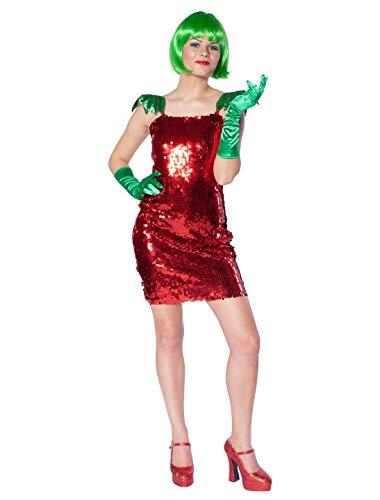 Deiters Erdbeere Kostüm - Deiters Kleid Sexy Erdbeere