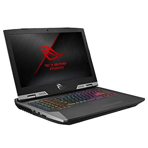 Asus ROG G703GX 43, 9 cm (17, 3 Zoll, FHD, Wv, 144Hz/3ms, Nvidia G-Sync, matt) Gaming-Notebook (Intel Core I7-8750H, 32GB RAM, 512GB SSD, 1TB HDD, NVIDIA GeForce RTX 2080 (8GB), Windows 10) Titanium