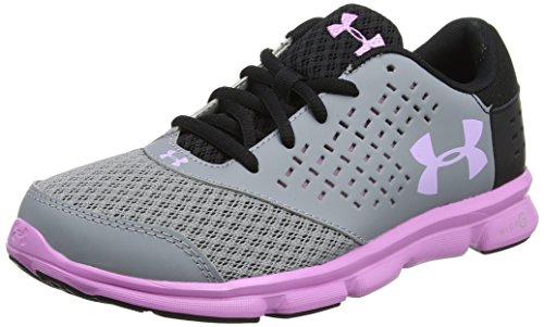 Under Armour UA GGS Micro G Rave RN, Chaussures de Running Fille