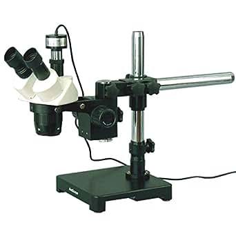 10x et 30x Microscope stéréo sur perche Support + Appareil photo numérique