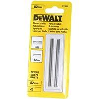 Dewalt DT3905-QZ DT3905-QZ-Hoja Reversible para Cepillo de HSS de 82mm, 0 W, 0 V, Plata, 82 mm