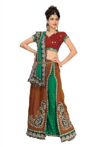 Chirag Sarees Cotton Silk Multi-Colour Magic Saree
