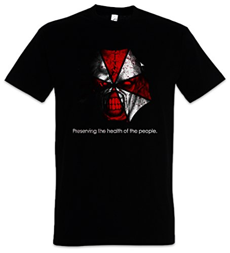 Urban Backwoods Nemesis Umbrella T-Shirt Resident Corporation Corp Evil Tyrant VG Zombie Wesker Nemesis Game Movie Größen S - 5XL (XL)