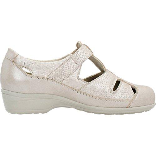 PINOSOS Lacci scarpe per donna, colore Beige, marca, modello Lacci Scarpe Per Donna 14009S Beige Beige