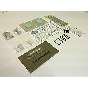[Werkzeug&Extras] Xbox 360 PHAT Extreme Hybrid UniclampTM RROD X-Clamp Reparatur Kit/Set mit Werkzeug & Extras(Nicht FÜR Slim, Rod, Ring of Death)