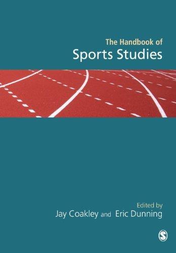 Handbook of Sports Studies (2003-06-03)