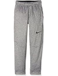 767e2f8cf Nike B NK THRMA PANT TAPERED, Pantalones Deportivos para Niños, Gris (DK  GREY