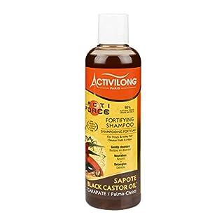 Activilong Actiforce Fortifying Shampoo Black Castor Oil Sapote Kastoröl und Sapote-Butter 250 ml