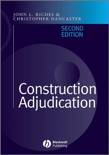 Construction Adjudication (Construction Adjudication)