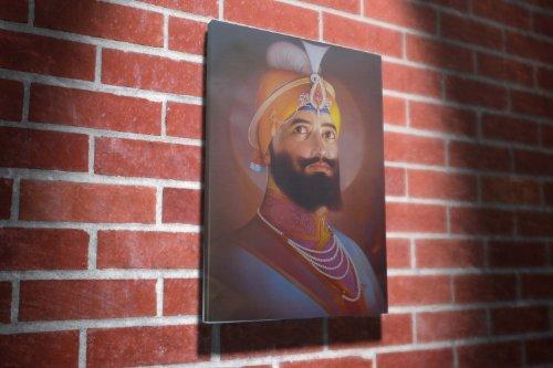 Guru Gobind Singh Ji Sikhism Religion Gallery Framed Canvas Art Picture Print