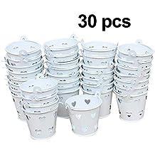 Awtlife - Cubo de Metal para Dulces (30 Unidades)