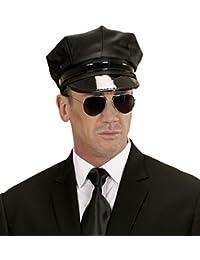 *** ANGEBOT *** SET - CHAUFFEUR - ( Mütze + Brille ), Fahrer Sicherheitspersonal Scurity
