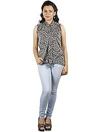 Gugg Women's Self Design TOP [GS16A43_BLACK]