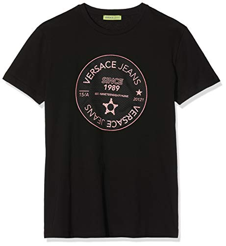 Versace Jeans Couture Herren Man Man T-Shirt Pullunder, Schwarz (Nero 899), XX-Large
