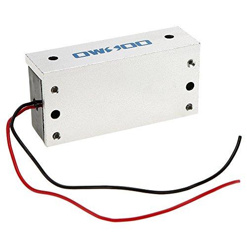 Festnight OWSOO Magnetschloss Elektrisch, 60KG 132lbs Fail Safe NC Modus Für Türzugriffskontrollsystem Tür Access Control System -