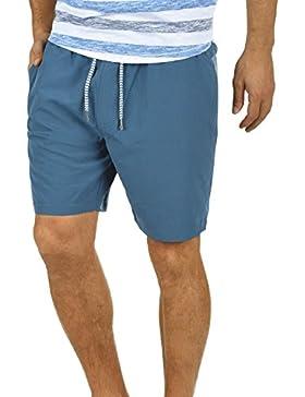 BLEND Nicci Herren Shorts kurze Hose Microfaser-Shorts