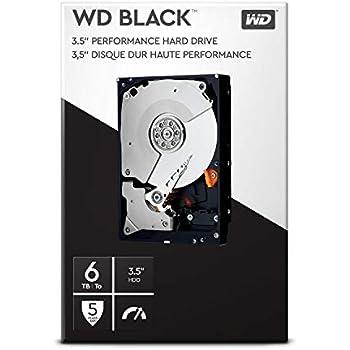 WD Black 6 TB Performance Desktop Hard Disk Drive 7200 RPM SATA 6 ...