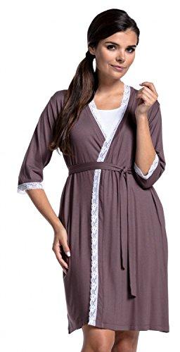 Umstands- und Still Pyjama mit Morgenmantel