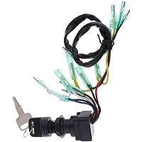 IPOTCH Caja de Mando Interruptor de Encendido Protección Motor Fueraborda Ensamblaje