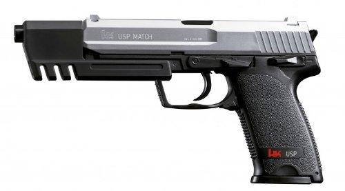 PEKL H&K Softair Pistole USP 0,5 Joule Bicolor Sportversion