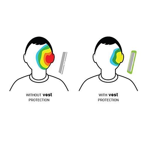 Vest VST115010 Coque anti-radiations pour Apple iPhone 6 noir