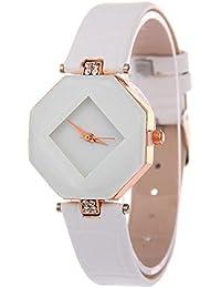 V2A Elegant Diamond Shape Design Analog Watch For Women And Girls - B0788P2K4M