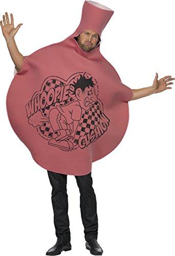 Whoopie-Kissen Kostüm Bodysuit aus Schaummaterial mit bedruckter Vorderseite, One Size